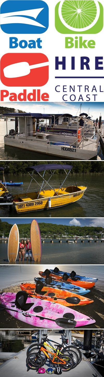 Central Coast Boating Hire Services Supplies